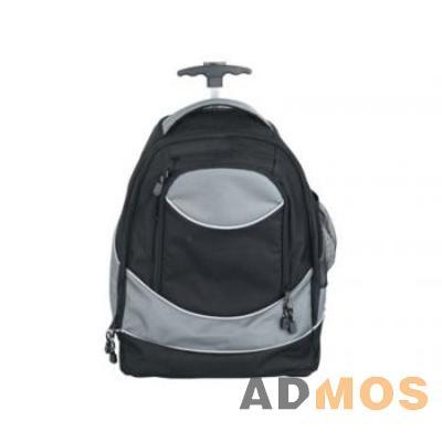 Рюкзак на колесиках с 1 отделением, передним карманом на молнии и...