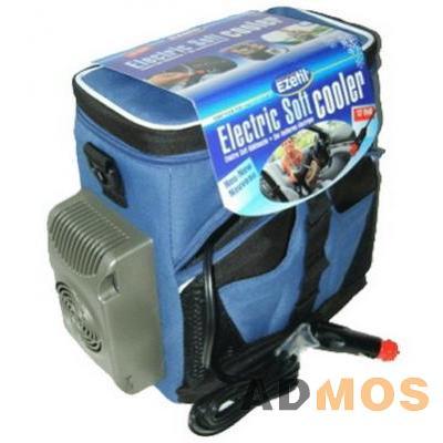 Легкая и компактная сумка холодильник работает от прикуривателя.